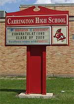 Carrington High School - Home of the Cardinals!